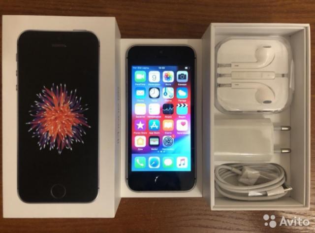iPhone SE черный - 1