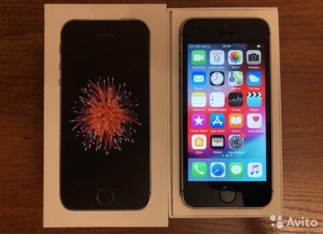 iPhone SE черный - 2