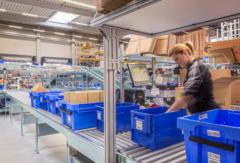 Работа на складе в Швейцарии – упаковка продукции, 14.2 евро в час нетто.