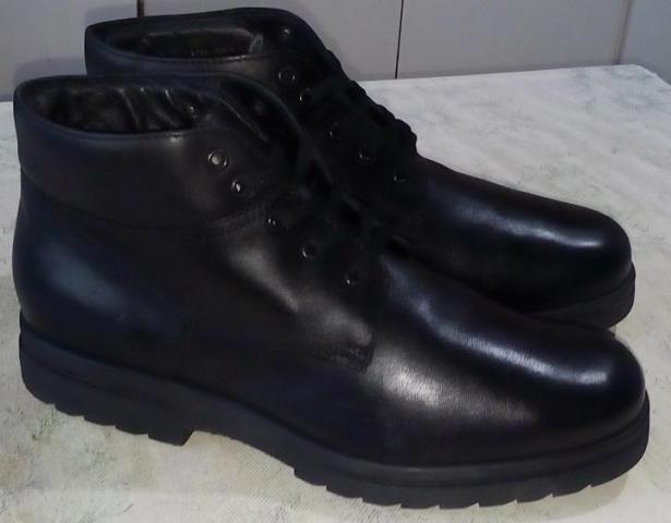 Продам неубиваемые демисезонные мужские ботинки - 1