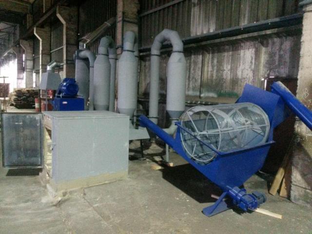 Технология производства топливных брикетов PINI&KAY - 1