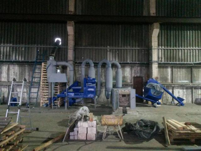 Технология производства топливных брикетов PINI&KAY - 2
