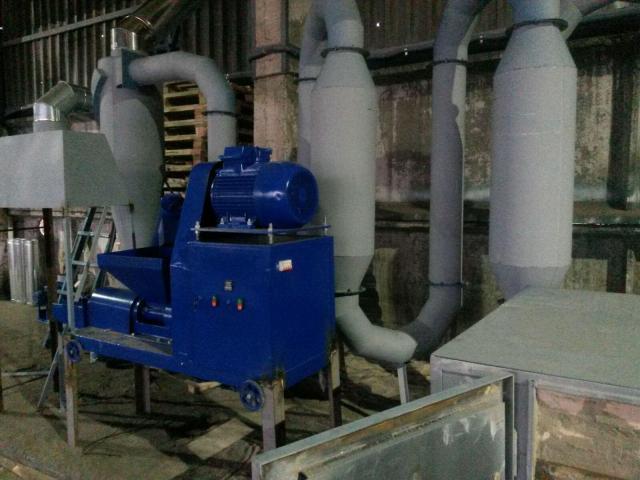 Технология производства топливных брикетов PINI&KAY - 5