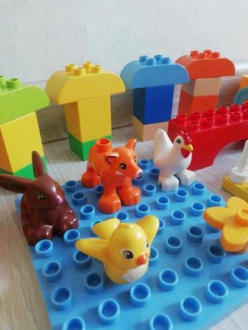 Продам б/у Лего дупло - 2