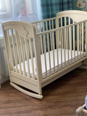 Продам кроватку детскую для Вашей прицессы или маленького принца - 1