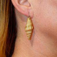 Ohrringe aus echten Muscheln. - Изображение 5
