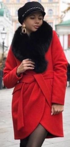 Продам зимнее пальто тюльпан - 1