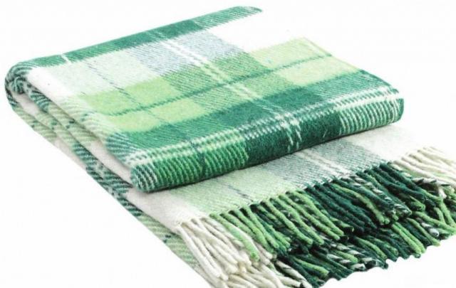 Продам плед  саржевого плетения - 1