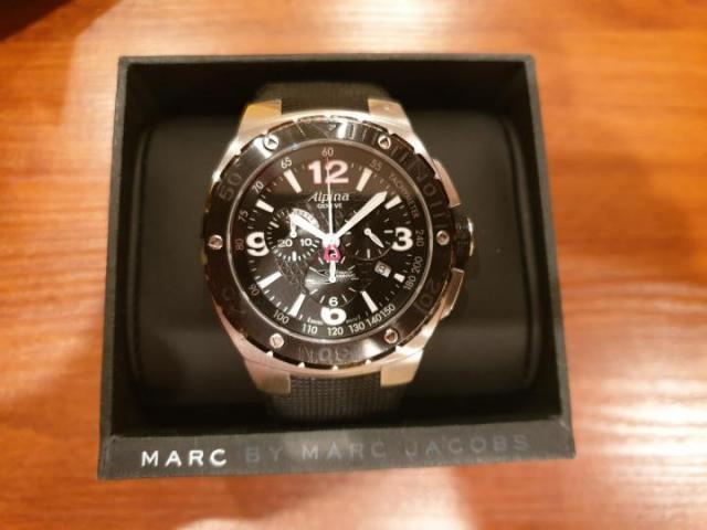 Продам Шикарные мужские швейцарские часы-хронограф Alpina - 1