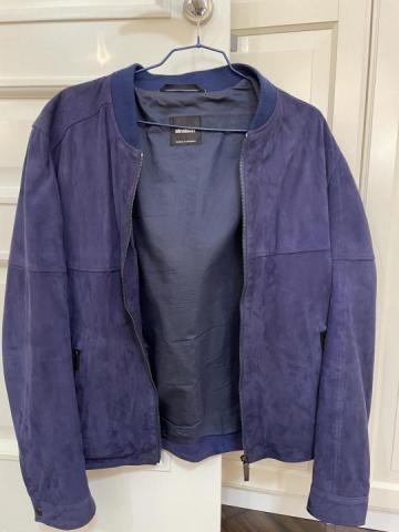 Продаю куртку замшевую Strellson - 1