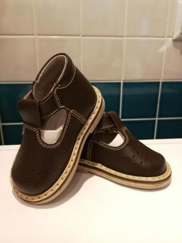 Продаются туфли темно-коричневые - 1