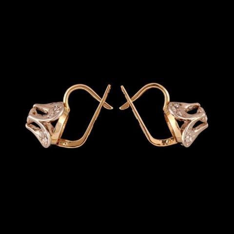 Продаются шикарные серьги с бриллиантами - 2