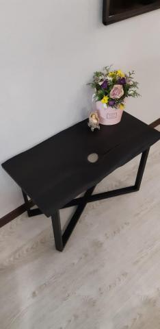 Bog oak coffee table - 1