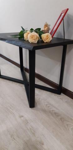 Bog oak coffee table - 2