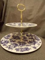 Продам тарелка двухъярусная - Изображение 1