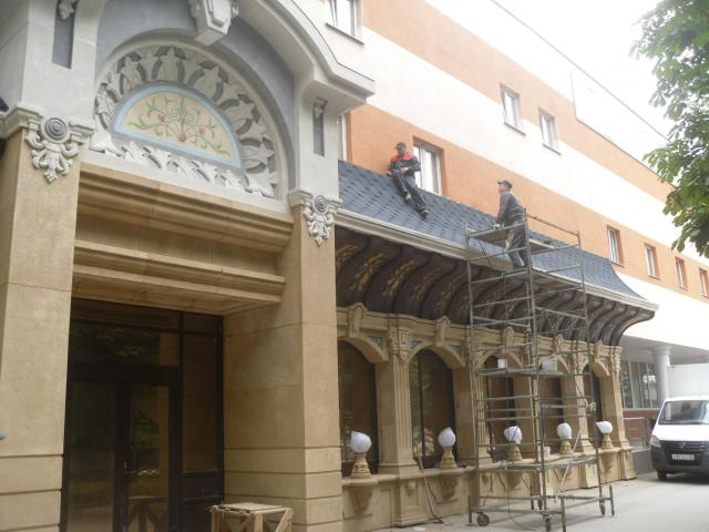 reconstruction restoration improvement of building facades - 4