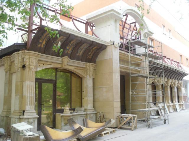 reconstruction restoration improvement of building facades - 5