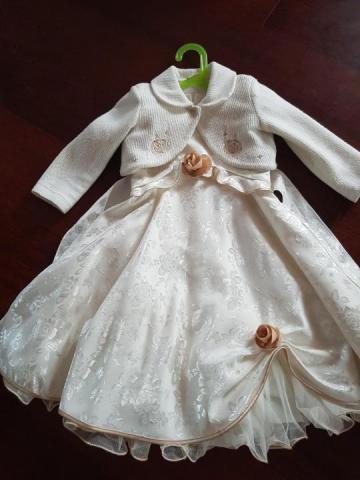 Красивое нарядное пышное платье - 1