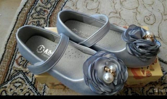 Продам новые красивые туфли для Вашей принцессы - 1