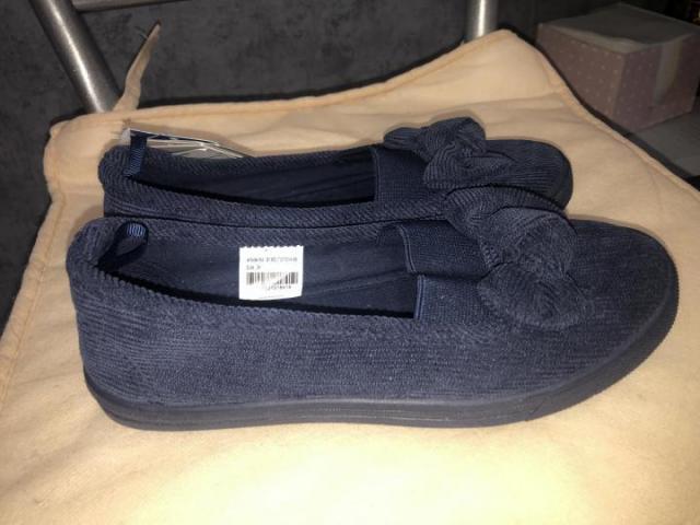 Продам вельветовые туфли - 1