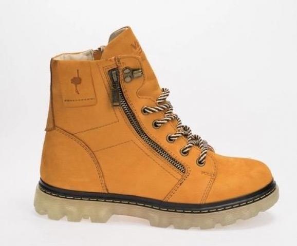 Зимние ботинки,натуральный нубук и мех - 2