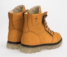 Зимние ботинки,натуральный нубук и мех - Изображение 3