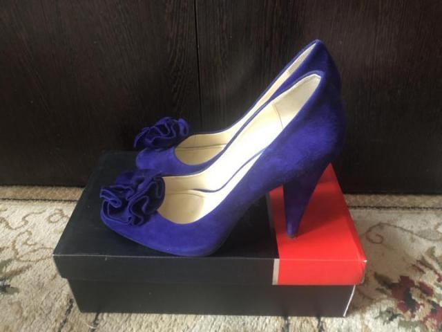 Продам туфли замшевые Carlo Pasolini - 1
