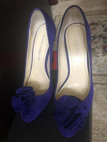 Продам туфли замшевые Carlo Pasolini - 2