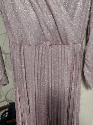 Платье нарядное плиссе - 1