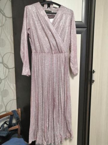 Платье нарядное плиссе - 3