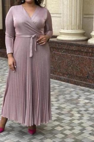 Платье нарядное плиссе - 4
