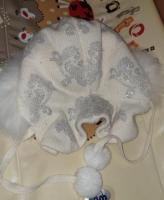 Зимня шапка для девочки - Изображение 3