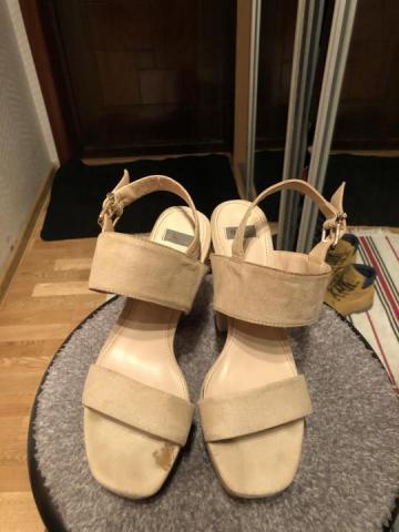 Продам туфли бежевые Bata - 1
