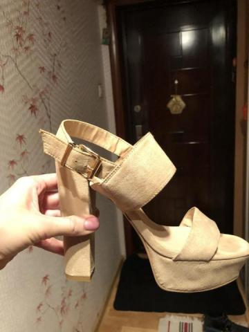 Продам туфли бежевые Bata - 3