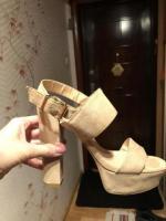 Продам туфли бежевые Bata - Изображение 3
