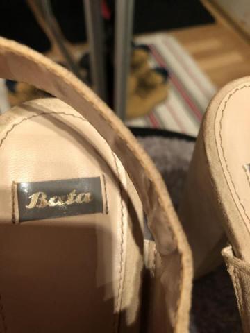 Продам туфли бежевые Bata - 5