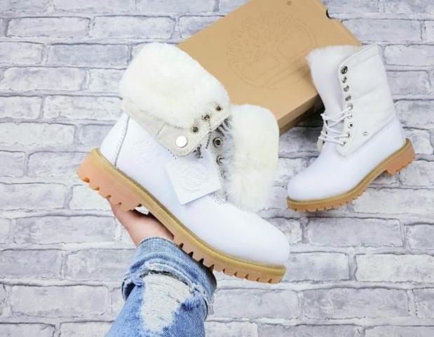 Женские ботинки Timberland зимние - 1