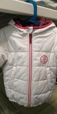 Куртка двухсторонняя для девочки - 1