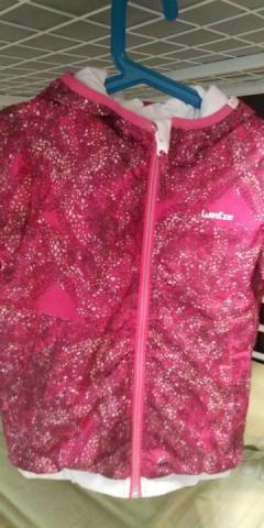 Куртка двухсторонняя для девочки - 2