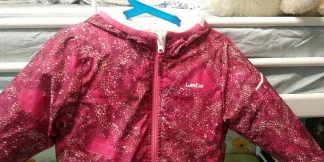 Куртка двухсторонняя для девочки - 3