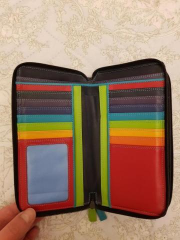 Продам кошелек большой кожаный - 2