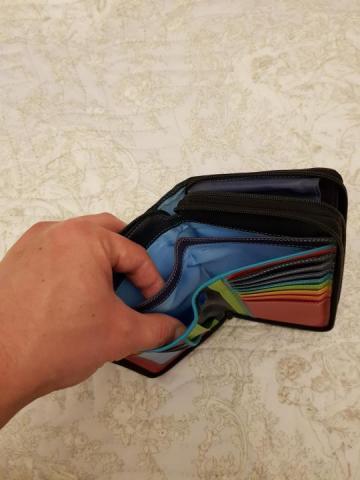 Продам кошелек большой кожаный - 3