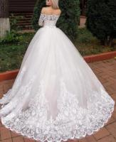 Продам новое шикарное пышное платье со шлейфом - Изображение 1