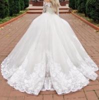 Продам новое шикарное пышное платье со шлейфом - Изображение 2