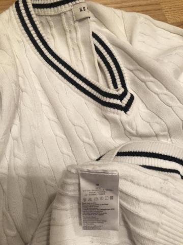 Продам джемпер пуловер Поло U.S. Polo Assn мужской M - 3