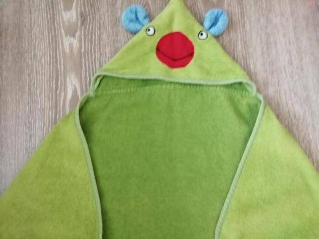 Продам детское полотенце с капюшоном, конверт - 1