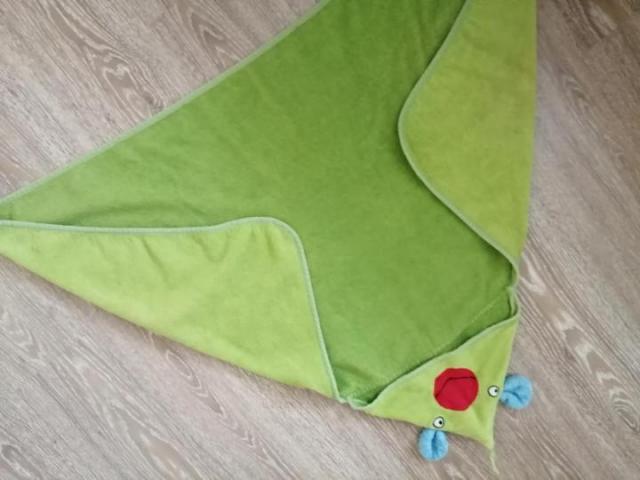 Продам детское полотенце с капюшоном, конверт - 2