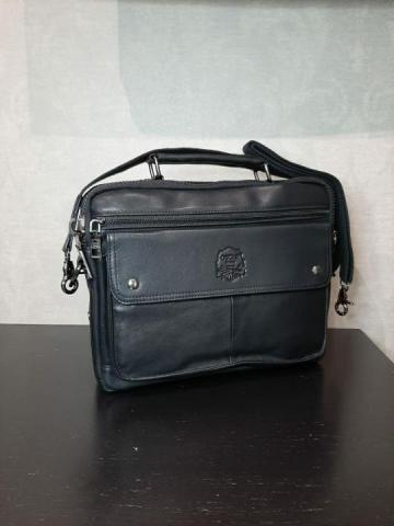 Продам сумку мужскую из натуральной кожи - 1