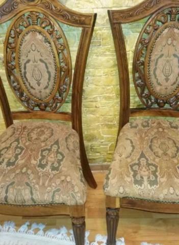 Продам деревянный стол и стулья - 2