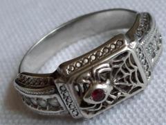 Продам  серебренное кольцо - Изображение 2